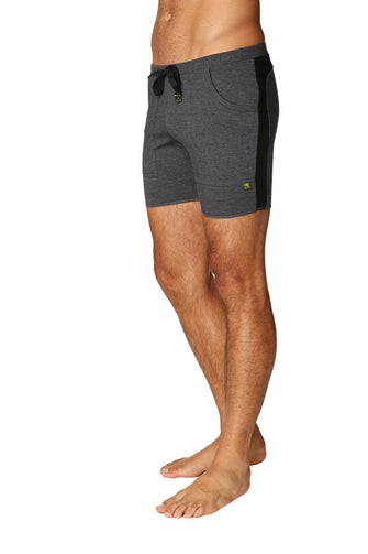 Transition Yoga Short (Charcoal w/Black) Short Shorts 4-rth