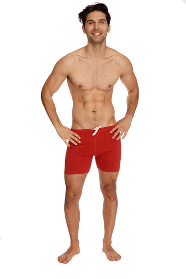 Transition Yoga Short (Cinnabar red) Short Shorts 4-rth