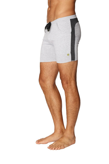 Transition Yoga Short (Grey w/Charcoal) Short Shorts 4-rth