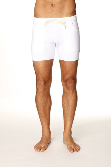 Transition Yoga Short (White) Short Shorts 4-rth