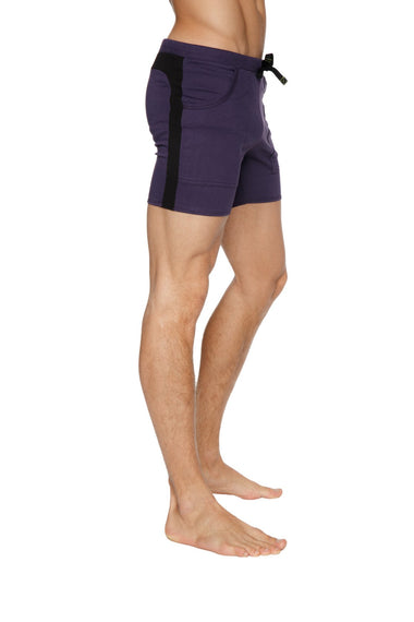 Transition Yoga Shorts (Eggplant w/Black) Short Shorts 4-rth