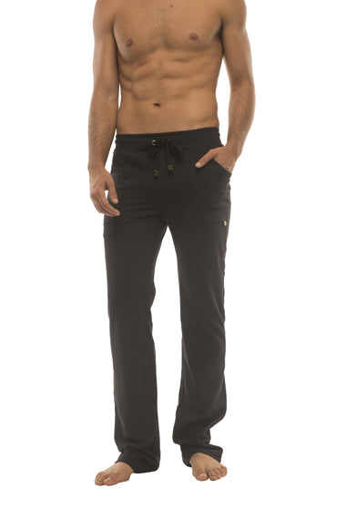 Ultra Flex Yoga Track Pant (BLACK w/Black & Black) Mens Pants 4-rth