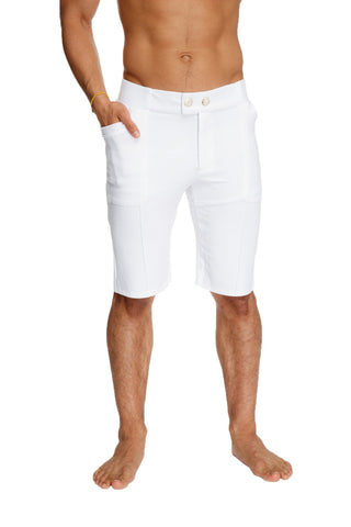Urban Tactical Dress Shorts (White) Dress Pants 4-rth