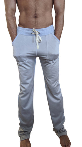 **Winter Collection** Heavier-Weight LUXURY-Fleece Track & Lounge Pant (Grey)