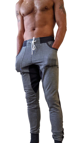 **Winter Edition** LUXURY-Fleece Long Cuffed Jogger & Yoga Sweat Pants (Charcoal)