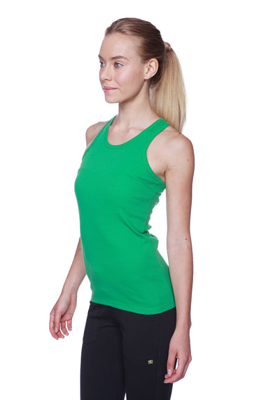 Women's All-American Racerback Tank Top (Bamboo Green) Womens Tank Tops 4-rth
