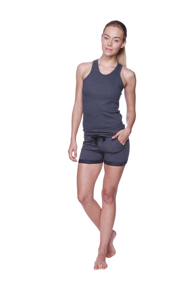Women's All-American Racerback Tank Top (Charcoal) Womens Tank Tops 4-rth