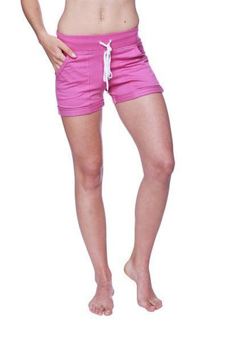 Women's Performance Yoga Short Womens Shorts 4-rth Extra Small Berry