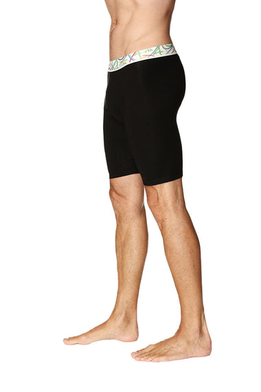 Yoga Compression Short (Black) Mens Underwear 4-rth