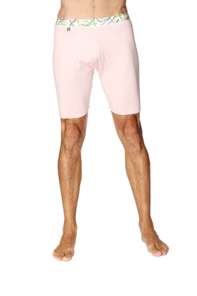 Yoga Compression Short - Pink Mens Underwear 4-rth