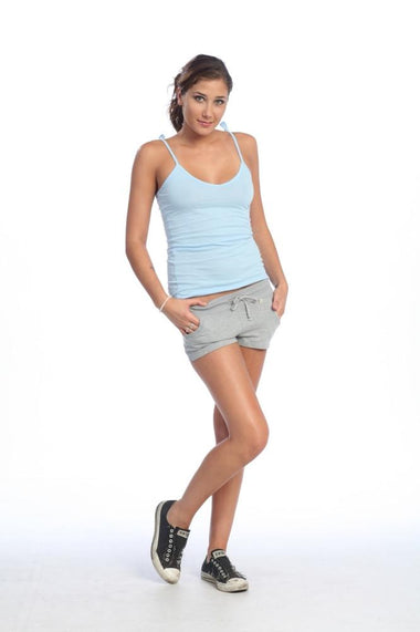 Yoga Training Shorts (Heather Grey) Womens Sale 4-rth