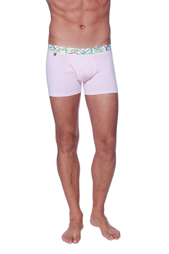 Zen Boxer Brief (Solid Pink) Mens Underwear 4-rth