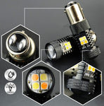 3030 SMD 1157 Switchback LED Bulbs|Set of 2
