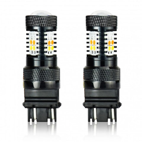 3030 SMD 3157 Turn Signals/SwitchBacks LED Bulbs | Set of 2