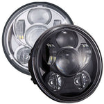 "VisionPRO 8600B Series 5 3/4"" Black LED Projection Daymaker Headlight for Harley Sportster, Dyna and Other Models"