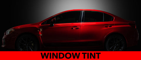 "Full Window Tinting, Xpel HP ""High Performance""  Hybrid Ceramic, No Glare Strip."