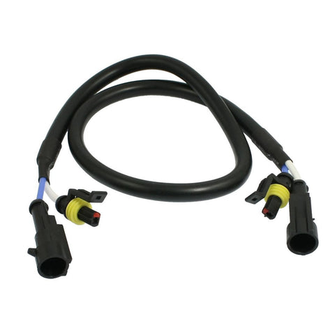 Xenon Amp to Amp Extension Cables, Pair
