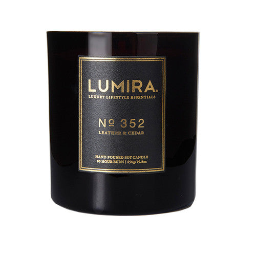 LUMIRA Glass Candle