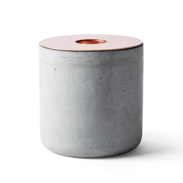 Menu Chunk Marble candle holder