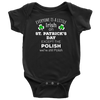 EVERYONE'S A LITTLE IRISH EXCEPT THE POLISH WE ARE STILL POLISH - KIDS-T-shirt-Teelime | shirts-hoodies-mugs