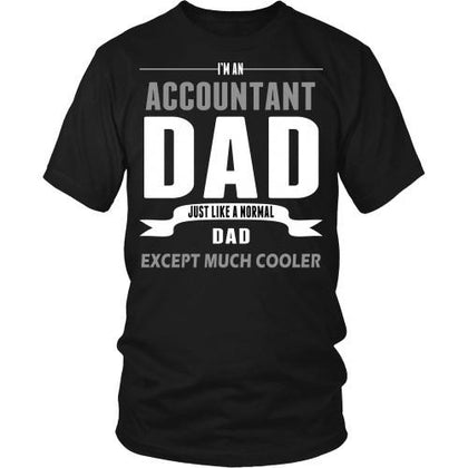 Accountant T Shirt - I'm an Accountant dad-T-shirt-Teelime | shirts-hoodies-mugs