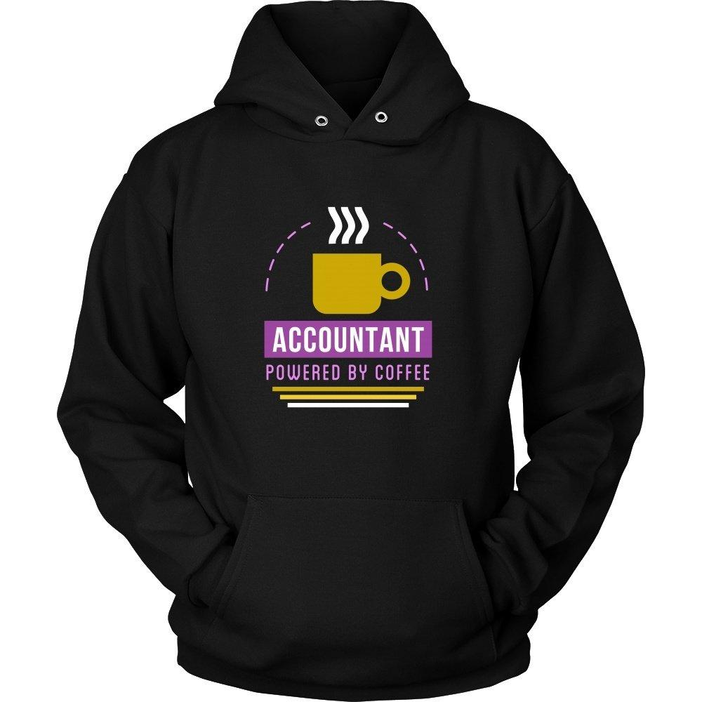 12a2ddb6 Accounting T Shirt - Accountant Powered by Coffee-T-shirt-Teelime | shirts