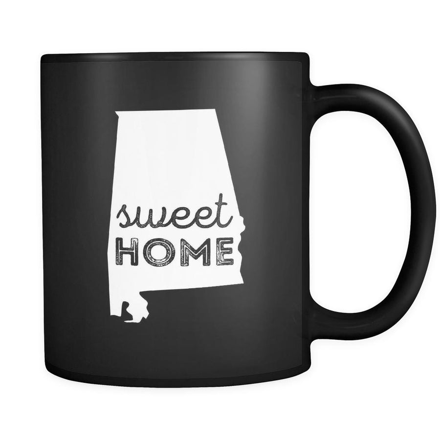 Alabama Sweet home Alabama 11oz Black Mug