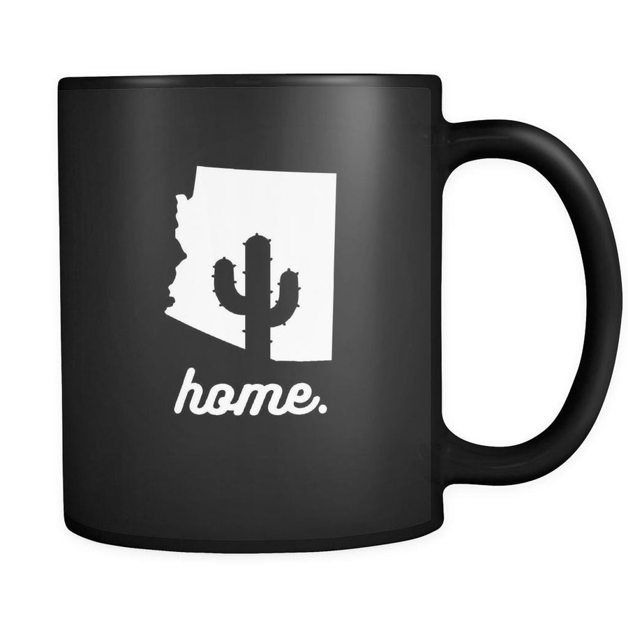 Arizona Home Arizona 11oz Black Mug