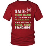 Auditor Shirt - Raise your hand if you love Auditor, if not raise your standards - Profession Gift-T-shirt-Teelime | shirts-hoodies-mugs