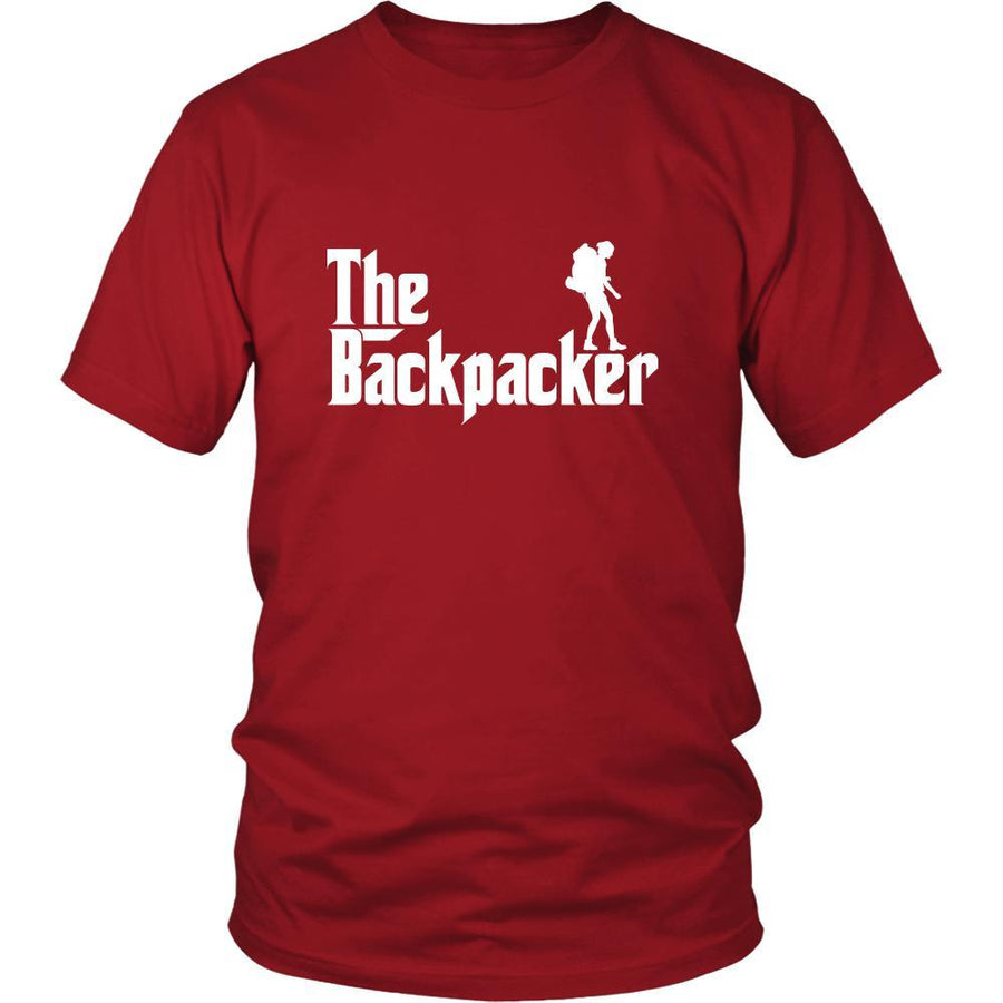 Backpacking Shirt - The Backpacker Hobby Gift-T-shirt-Teelime | shirts-hoodies-mugs