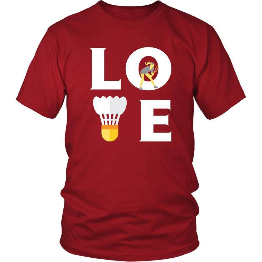 Badminton - LOVE Badminton  - Sport Player Shirt
