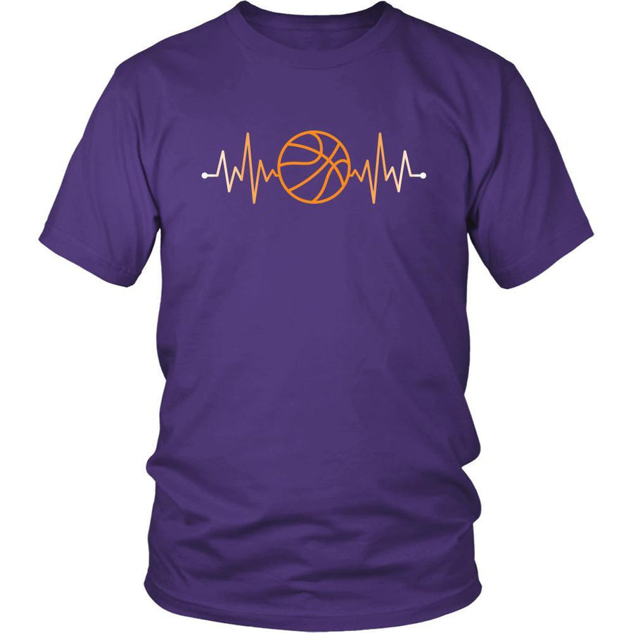 Basketball T Shirts - Basketball Rhythm-T-shirt-Teelime | shirts-hoodies-mugs