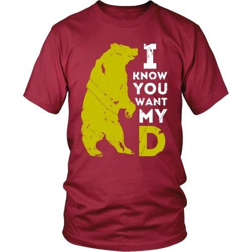 Beard T Shirt - I know you want my BearD