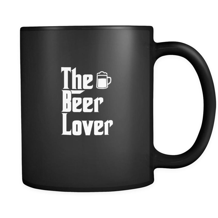 Beer The Beer Lover 11oz Black Mug-Drinkware-Teelime | shirts-hoodies-mugs