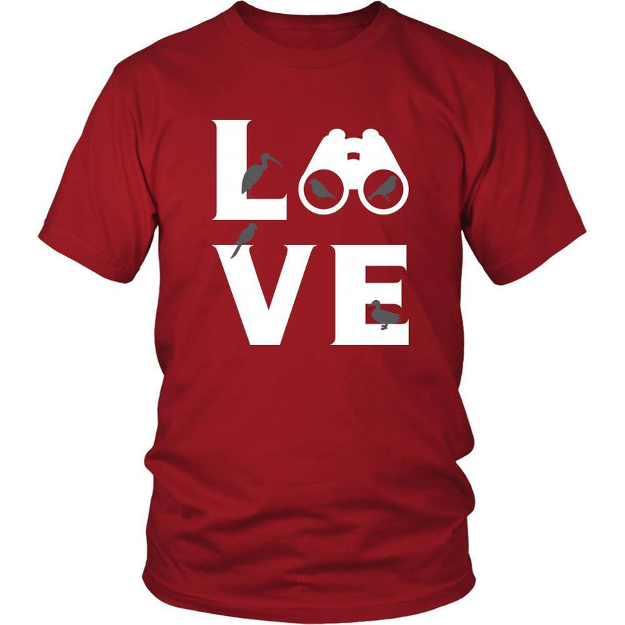 Bird watching - LOVE Bird watching  - Animal Watch Shirt