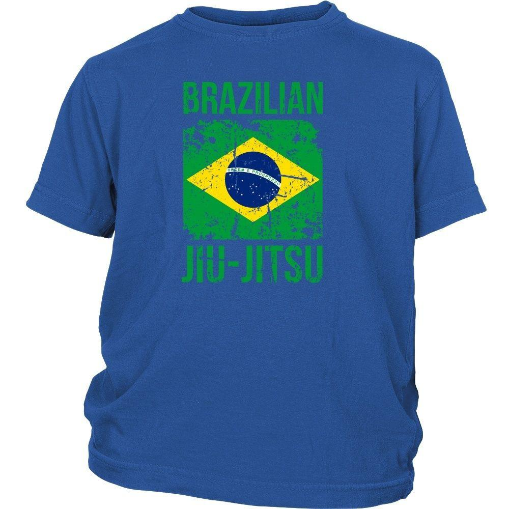 26286c01 BJJ T Shirt - Brazilian Jiu Jitsu flag - Teelime | Unique t-shirts