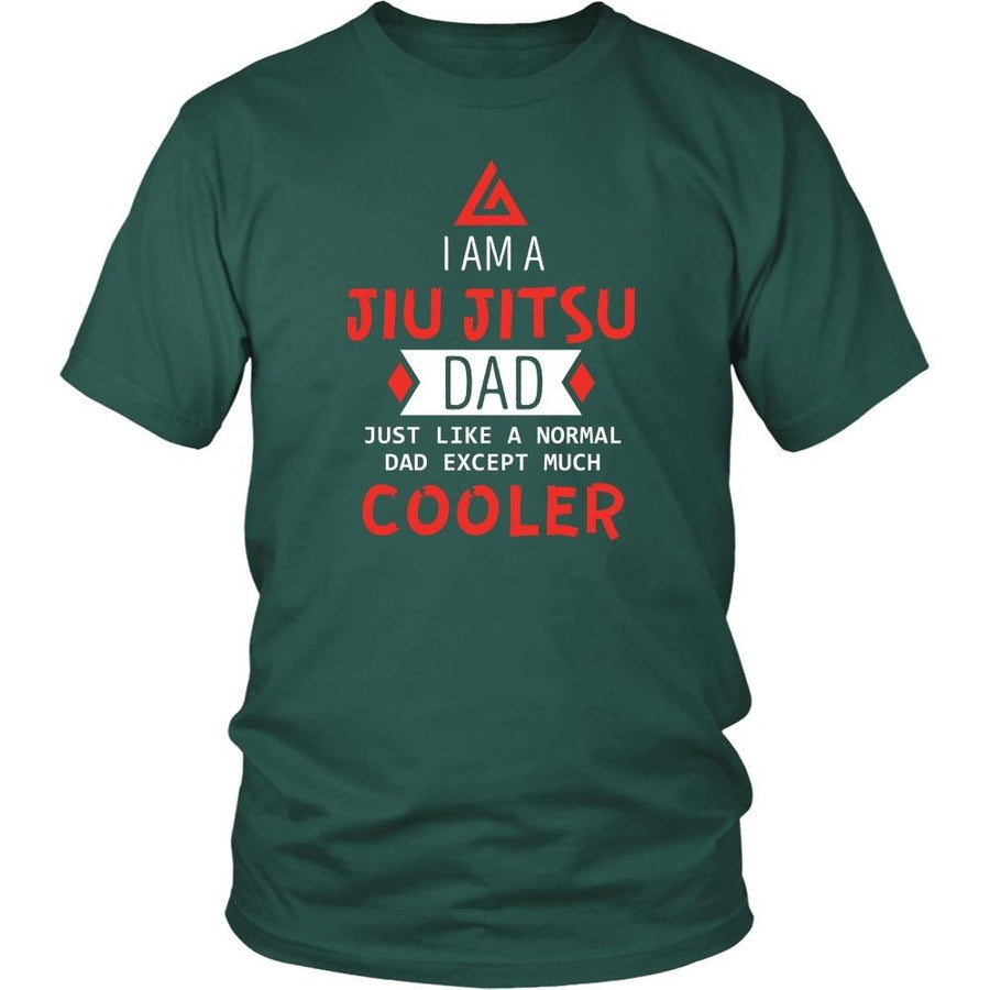 BJJ T Shirt - I am a Jiu Jitsu Dad