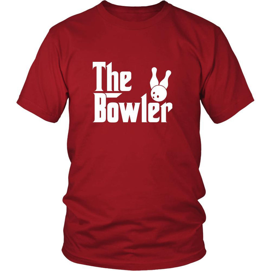 Bowling Shirt - The Bowler Hobby Gift-T-shirt-Teelime | shirts-hoodies-mugs