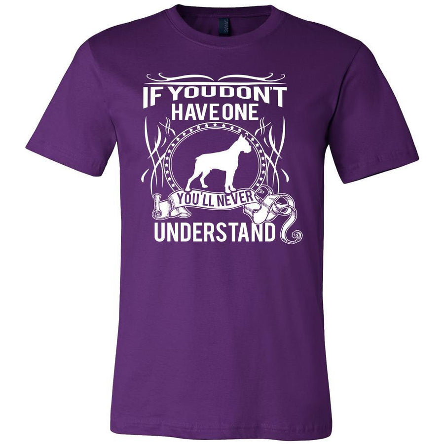 Boxer Shirt - If you don't have one you'll never understand- Dog Lover Gift-T-shirt-Teelime | shirts-hoodies-mugs
