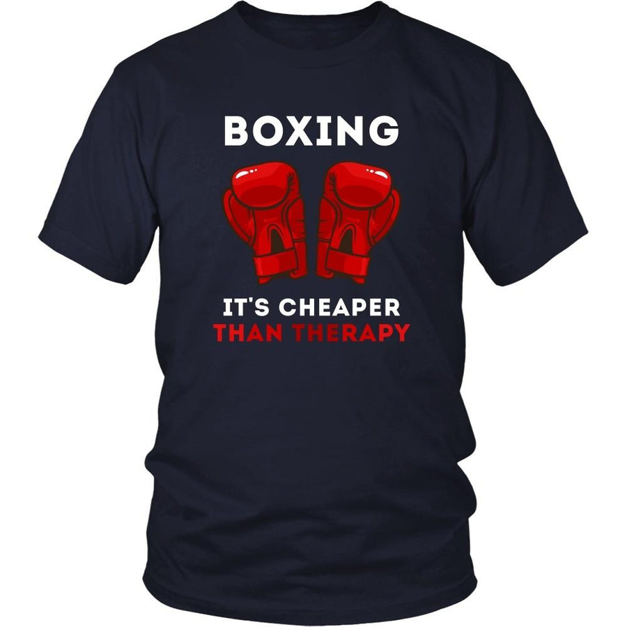 Boxer T Shirt - Boxing It's cheaper than Therapy-T-shirt-Teelime | shirts-hoodies-mugs
