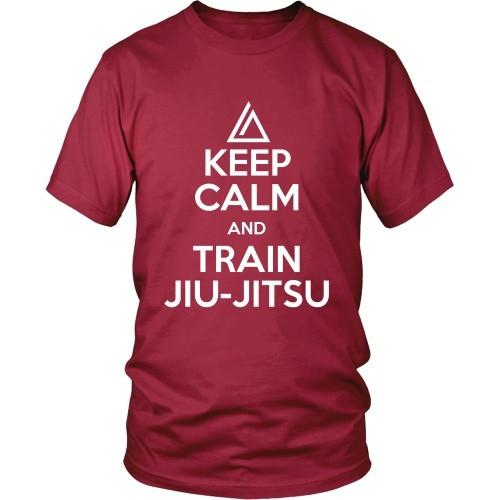 Brazilian Jiu Jitsu T Shirt - Keep Calm and Train Jiu Jitsu