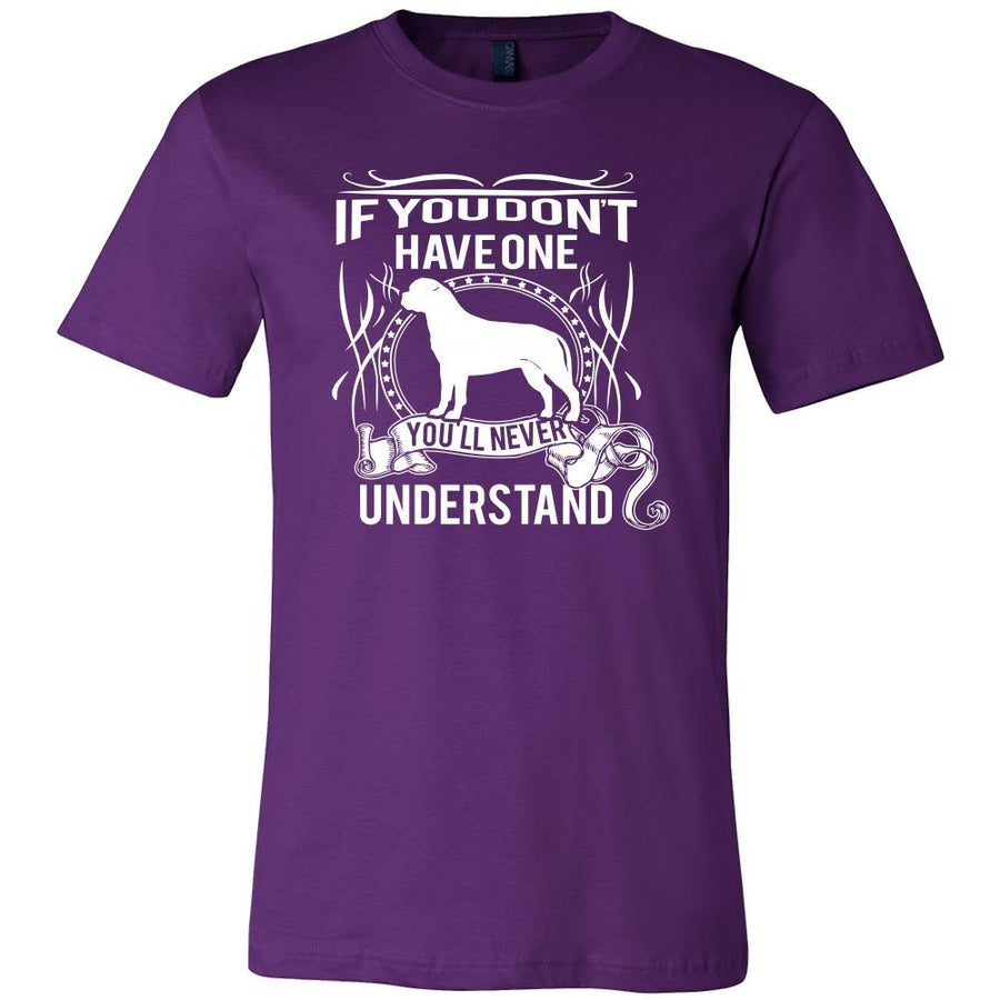 Bullmastiff Shirt - If you don't have one you'll never understand- Dog Lover Gift-T-shirt-Teelime | shirts-hoodies-mugs