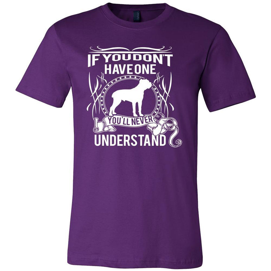 Cane corso Shirt - If you don't have one you'll never understand- Dog Lover Gift-T-shirt-Teelime | shirts-hoodies-mugs