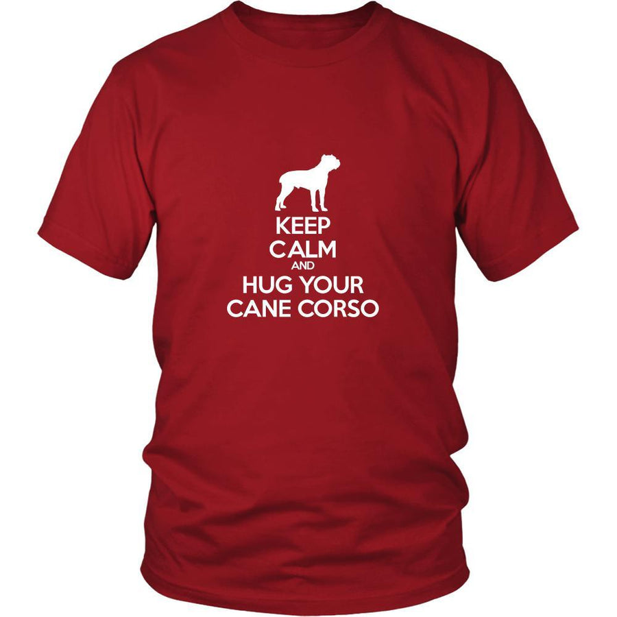 Cane corso Shirt - Keep Calm and Hug Your Cane corso- Dog Lover Gift-T-shirt-Teelime | shirts-hoodies-mugs