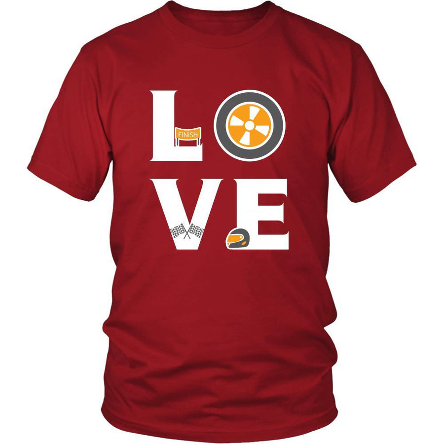 Car Racing - LOVE Car Racing - Drive Hobby Shirt-T-shirt-Teelime | shirts-hoodies-mugs