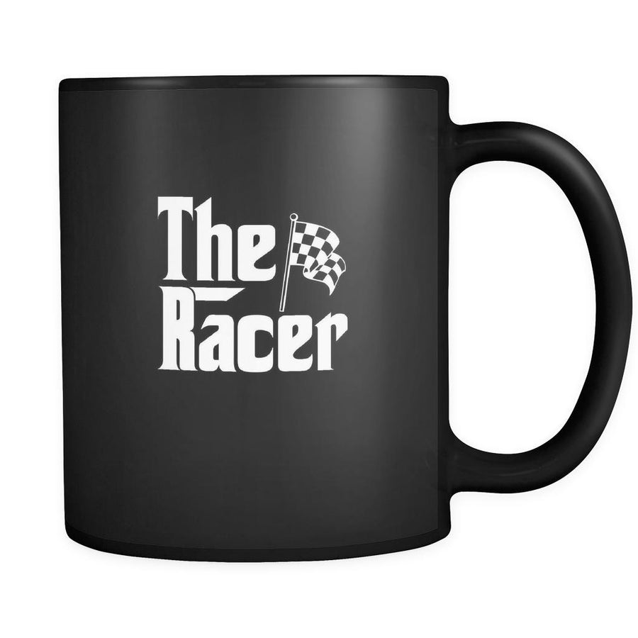 Car Racing The Racer 11oz Black Mug-Drinkware-Teelime | shirts-hoodies-mugs