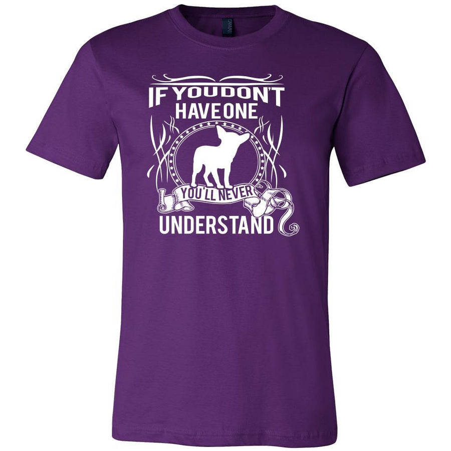 Chihuahua Shirt - If you don't have one you'll never understand- Dog Lover Gift-T-shirt-Teelime | shirts-hoodies-mugs