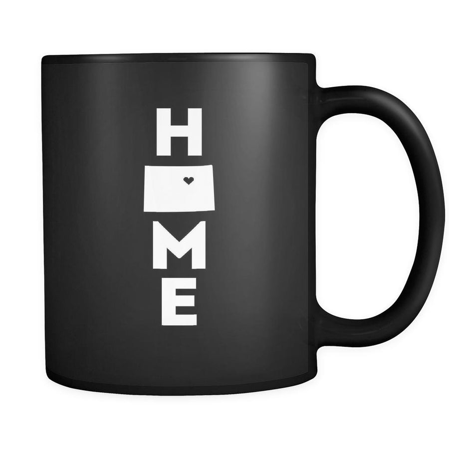 Colorado Home Colorado 11oz Black Mug-Drinkware-Teelime | shirts-hoodies-mugs