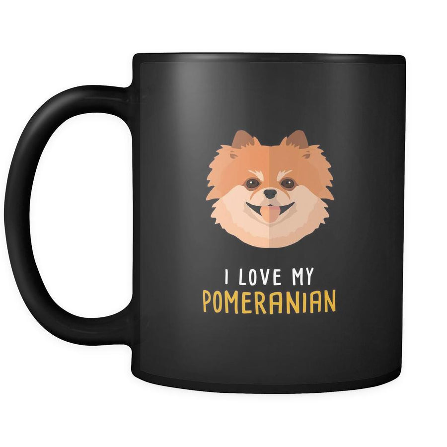 Dog Lover Cup - I love my Pomeranian-Drinkware-Teelime | shirts-hoodies-mugs