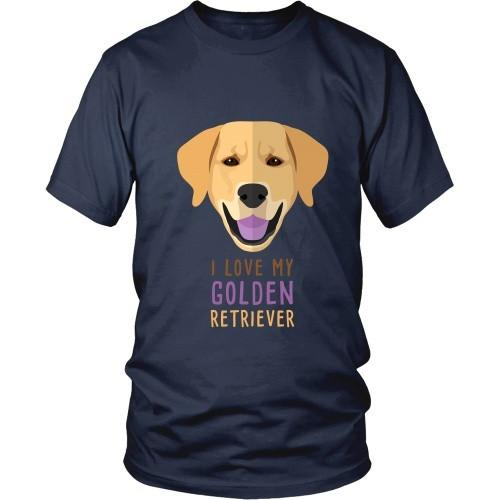 Dogs T Shirt - I love my Golden Retriever